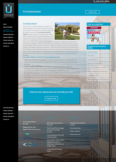 Your Client Matters - Websites for mortgage brokers