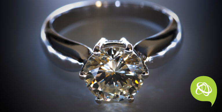 Shine bright like a diamond and let's 'get engaged' this year