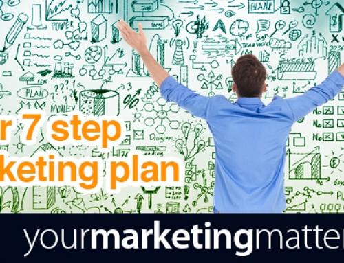 Your 7 step marketing plan